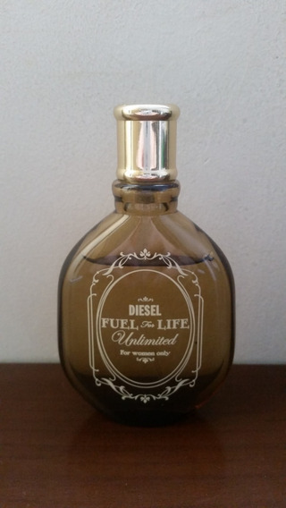 Diesel Fuel For Life Unlimited 50ml Usado Sem Caixa Raro