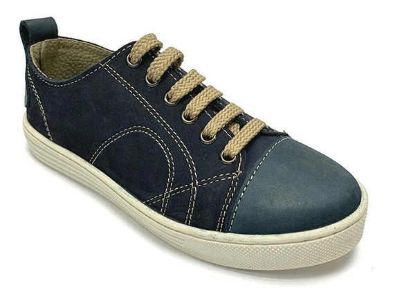 Zapatos Sneakers Romano Niño Azul Rm 7111 Corpez 44