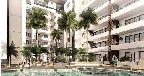 Cumbres Towers En La Zona Más Trendy De Cancún. Penthouse En Venta Tipo 1. 3 Recámaras. Quintana Roo