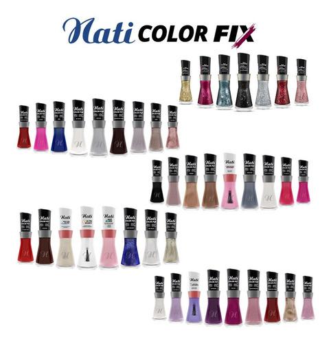 Kit Esmaltes Nati Colorfix - 42 Cores Atacado