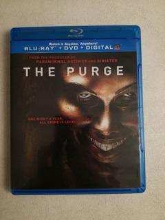 The Purge ( Noche De La Expiación) Combo Blu Ray Dvd