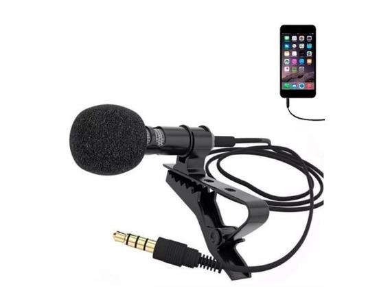 Microfone Lapela P/ Celular
