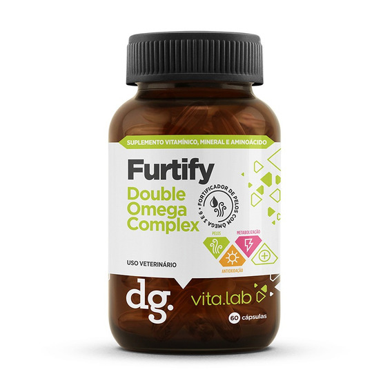 Furtify - Suplemento Fortificador De Pêlos Docg.
