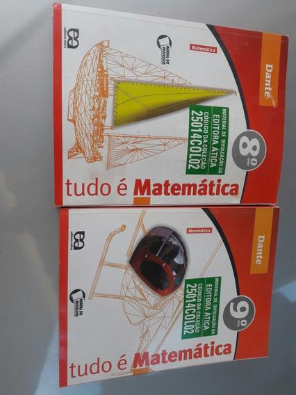 Livros De Matemática Ensino Fundamental..apenas Os Dois..