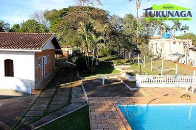 Chácara Rural À Venda, Jardim Estância Brasil, Atibaia. - Ch0006
