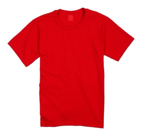 Franelas Camisas Escolares Roja Uniform T 2-8 Tienda Chacao