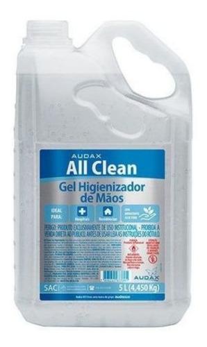 Imagem 1 de 1 de Álcool Gel Higienizador Mãos Mata 99,9% Vírus Bactérias