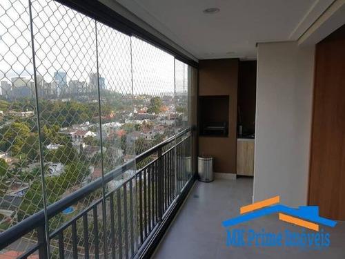 Imagem 1 de 6 de Lindo Apartamento 81m² Dois Dorms Em Alphaville - 2344