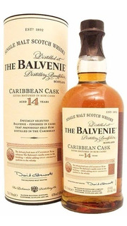 Whisky The Balvenie Caribbean Cask 14 Años 43% Abv Escocés.