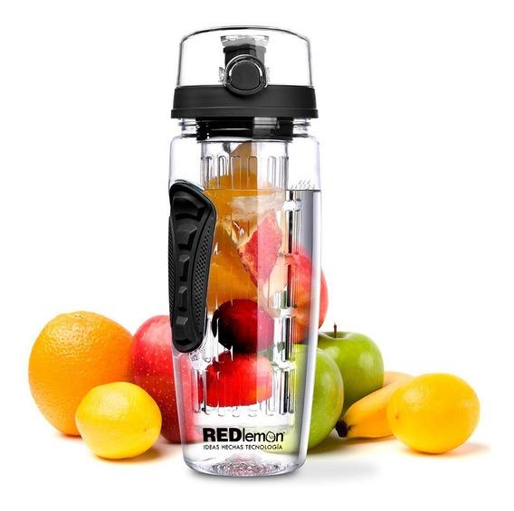 Redlemon Termo Infusor Agua Sport Frutas Ecológica 940 Ml