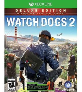 Watch Dogs 2 Edición Deluxe    Xbox One    Código Digital