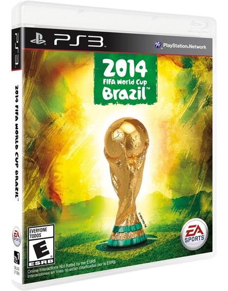 Jogo Copa Do Mundo Fifa Brasil 2014 Ps3 Em Português