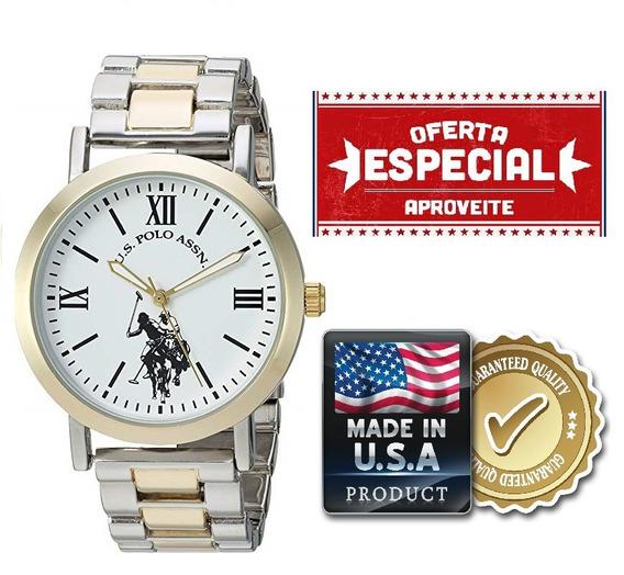 Relógio Feminino U.s Polo Assn. Original Usc40261az