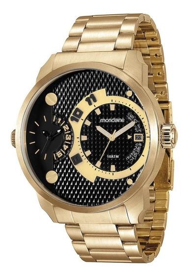 Relógio Mondaine Masculino Analógico 78527gpmvda2 Dourado