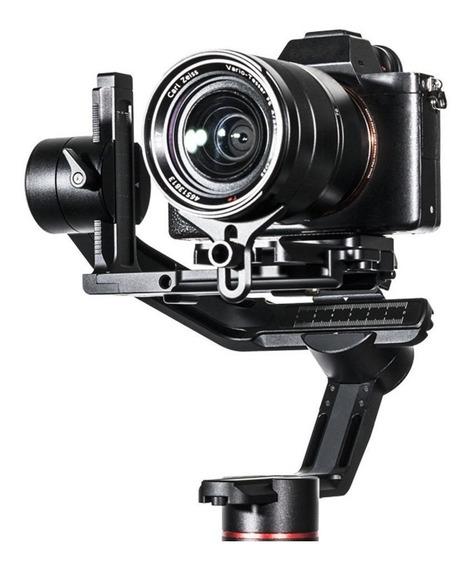 Gimbal Feiyutech Ak2000 Estabilizador Filmagens 2,8kg Cardan Bluetooth App 12 Horas Rotação 360° Controle Foco Zoom Slr