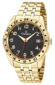 Relógio Masculino Champion Dourado Ca31382u