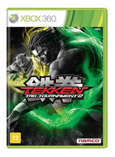 Tekken Tag Tournament 2 Xbox 360 Mídia Física Novo Lacrado