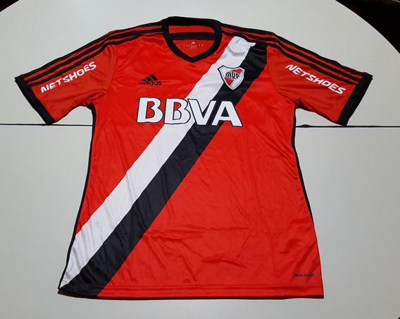 Camiseta De River Roja Banda Marca adidas, Talle 14