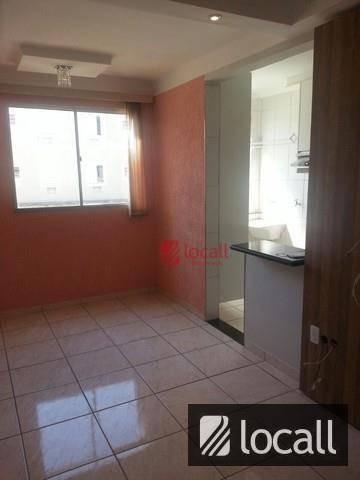 Apartamento Residencial À Venda, Residencial Macedo Teles I, São José Do Rio Preto. - Ap0098