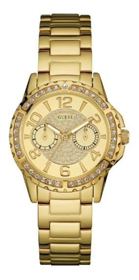 Relógio Feminino Guess Dourado 92591lpgsda1 Original C/ Nf