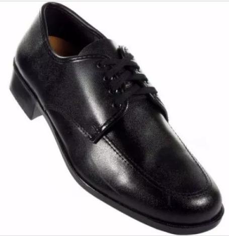 Sapato Social Masculino Preto Touroflex Com Cadarço