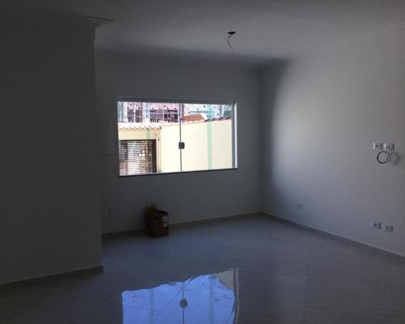 Sobrado Novo - 3 Dorm Sendo1 Suite Master - 5 Vagas, - Quintal E Churrasqueira - Prox Metro Tucucuvi - V2435 - 34309172