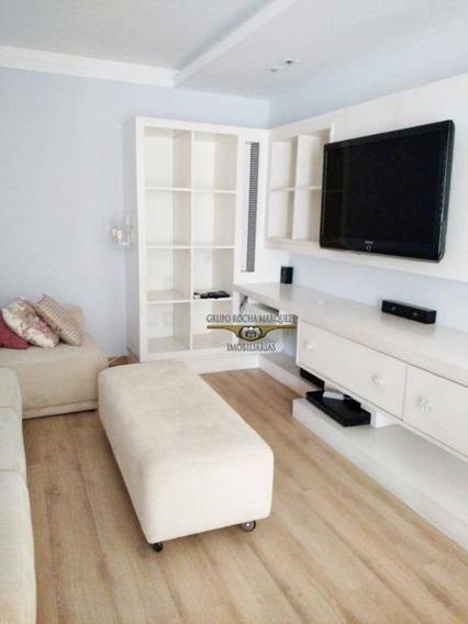 Cobertura Com 1 Dormitório À Venda, 161 M² Por R$ 1.000.000,00 - Tatuapé - São Paulo/sp - Co0035