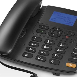 Telefone Celular Fixo Mesa Rural 5 Band 1 Modem 3g +garantia