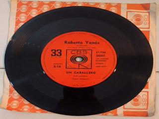Disco Vinilo Roberto Yanes Un Caballero Simple