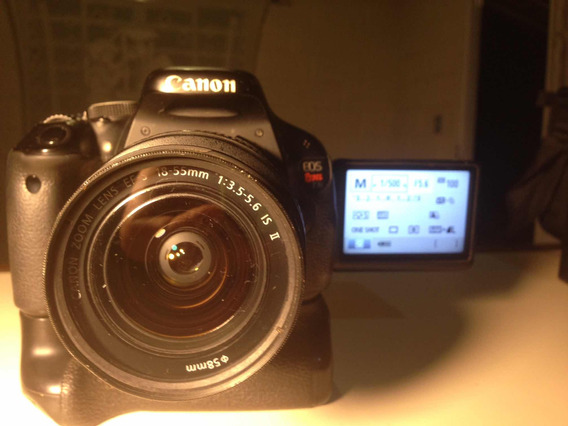 Canon Rebel T3i - 600d - Kit 28x55mm + Grip Original Canon