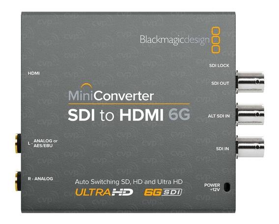 Mini Converter Sdi To Hdmi 6g - Blackmagic