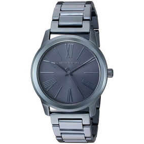 Relógio Feminino Michael Kors Mk3509 Hartman Blue 40mm