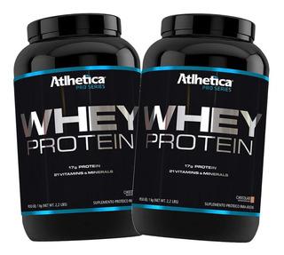 Whey Protein Pro Series 2 Kg Atlhetica - Promoção!
