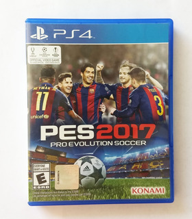 Videojuego Playstation 4 Pes 2017 Original Uso Fisico