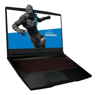 Notebook Msi Core I7 8750h 16gb 512gb Ssd 15.6 Gtx 1650