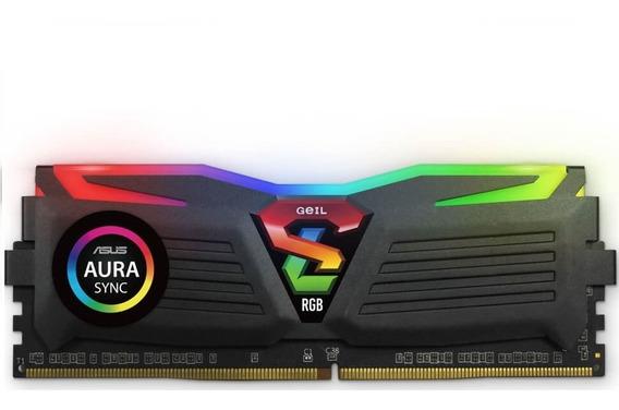 Memoria Geil Super Luce, 8gb,ddr4, 3200 Mhz! Nueva