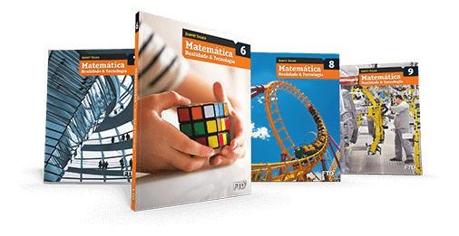 Matemática Realidade & Tecnologia 6º 7º 8º 9° Ano - Lacrado