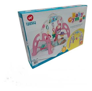 Mobile Bebê Baby Gym Menina Centro De Atividades Calesita