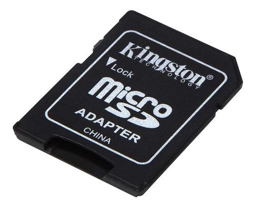 Imagem 1 de 3 de Adaptador Leitor De Cartão Micro Sd P/ Sd Kingston