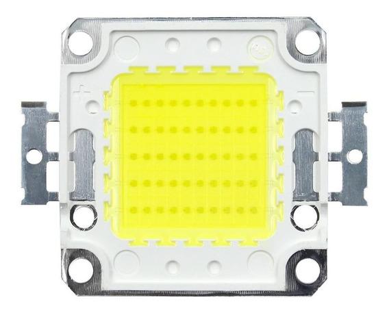 Kit 10 Chips Super Led 50w Branco Frio Reposição Refletor