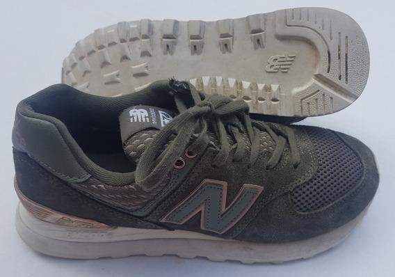Zapatillas New Balance Dama W574 T 35,5/36,5 Ar Originales