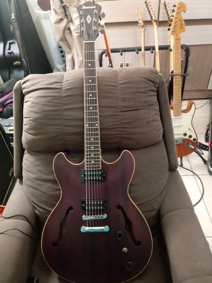 Guitarra Ibanez As53 Com Case Gator - Semi-acústica