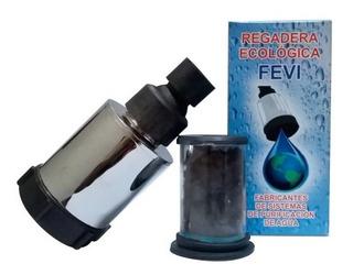 Paquete 2 Regaderas Ecológicas Filtro Carbón Antracita Fevi
