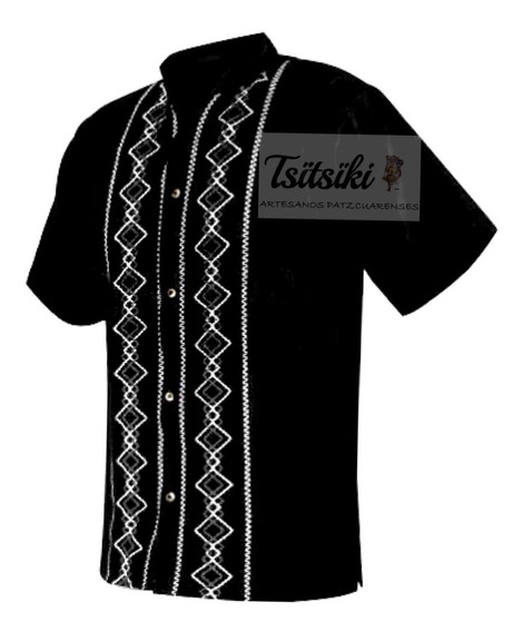 Camisa Guayabera Artesanal De Manta Tallas Extras