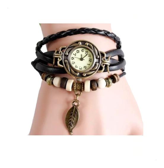 Reloj Vintage Retro Dama Baratos Piel Mujer