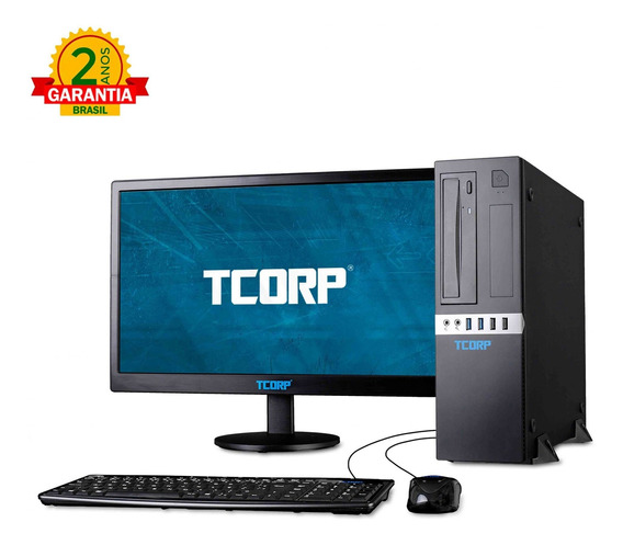 Comp Tcorp Small Form Factor Intel Core I3 8100 8gb 500gb