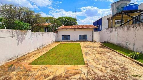 Imagem 1 de 12 de Casa  Residencial À Venda, Cidade Universitária, Campinas. - Ca0869