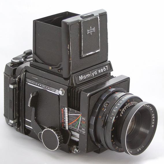 Kit Mamiya Rb67 + Lente 127mm + 2 Backs 120 Pro S