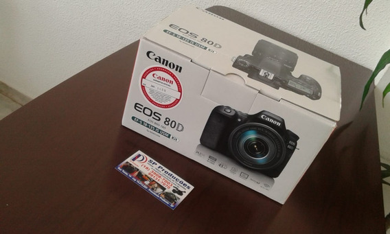 Câmera Eos 80d Canon