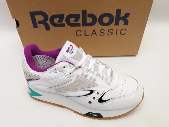 Tênis Reebok Classic Leather Ati 90s Branco Rosa Original